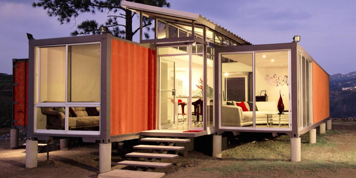 Maison container Costa Rica.