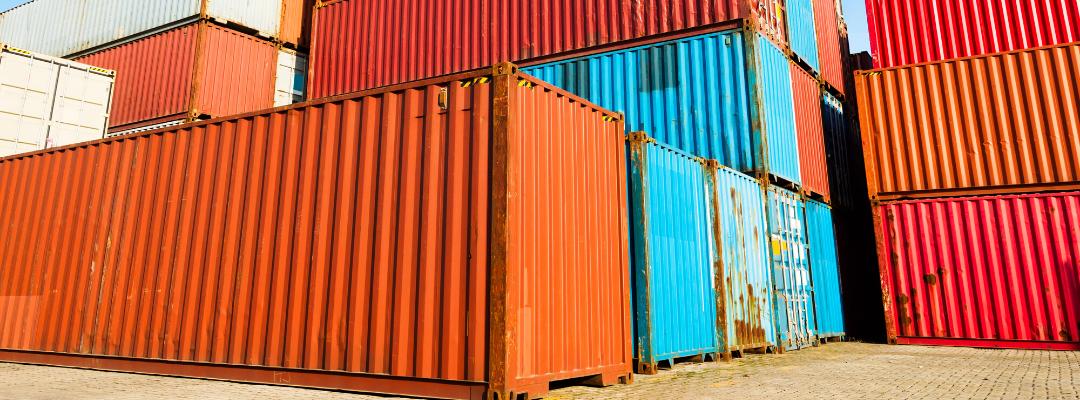 Maison Container orange.