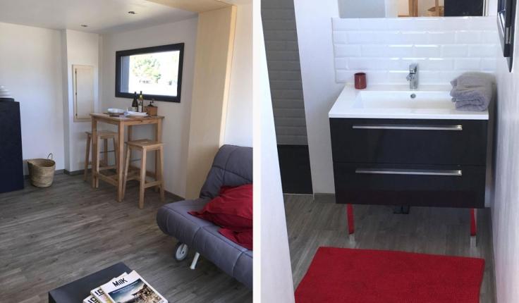 Studio de jardin T2 | CONTAIN LIFE | Constructeur de maison